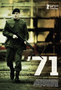 "Poster for the movie ""'71"""