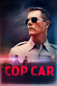 "Poster for the movie ""Cop Car"""