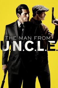 "Poster for the movie ""The Man from U.N.C.L.E."""