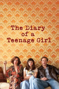 "Poster for the movie ""The Diary of a Teenage Girl"""
