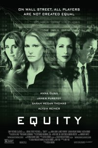 "Poster for the movie ""Equity"""